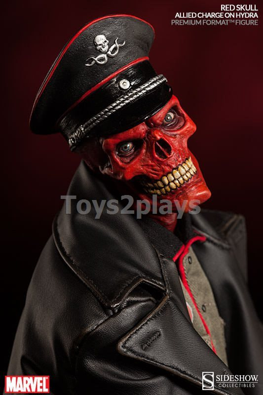 Red Skull: Allied Charge On Hydra Premium Format Figur