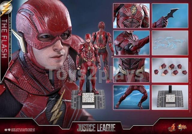 Hot Toys MMS448 JUSTICE LEAGUE - THE FLASH