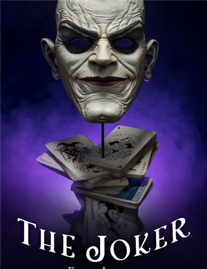 Sideshow Collectibles The Joker Life-Size Bust   Face of Insanity