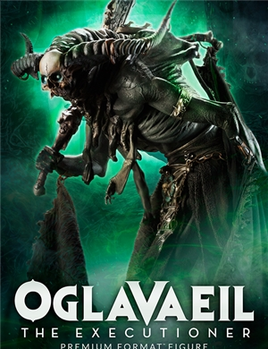 Sideshow Collectibles Oglavaeil ~ Court of the Dead The Executioner Skratch: Hound Premium Format™ Figure