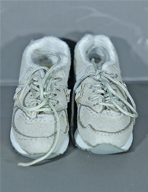 1/6 sneaker shoes new balance with grey color