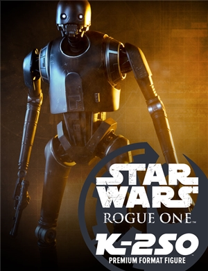 Sideshows STARWARS Rogue One  K-2SO