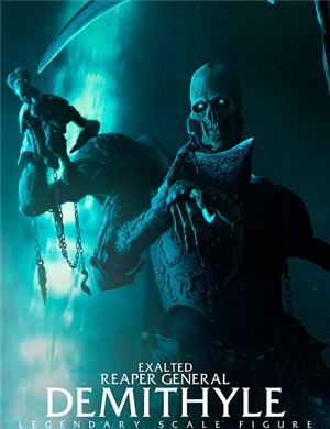 Sideshow Collectibles - Demithyle - Court of the Dead Exalted Reaper General Legendary Scale™ Figure