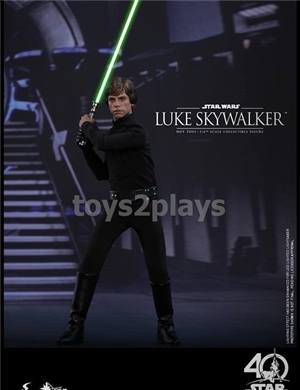 HOT TOYS MMS 429 1/6th scale Luke Skywalker collectible figure from Star Wars: Return of the Jedi!