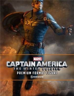 Sideshow Collectibles Captain America Premium Format Captain America: The Winter Soldier