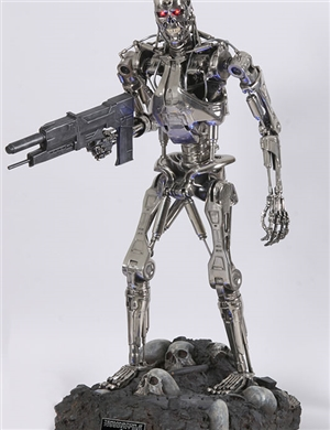 Sideshow Collectible T-800 Endoskeleton 1:2 Scaled Replica
