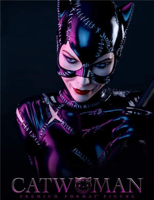 Sideshow Collectibles Catwoman Premium Format™ Figure  Michelle Pfeiffer 1992 Batman Returns Film Version