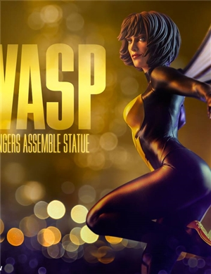 Sideshow WASP Statue