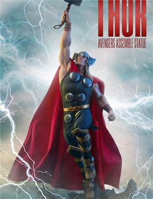 Sideshow Collectible Thor Avenger Assemble Statue