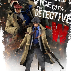 COOMODEL X OUZHIXIANG NO.VC001 - 1/6 VICE CITY - THE DETECTIVE W (STANDARD EDITION)