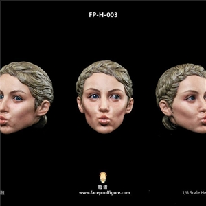 Facepoolfigure FP-H-003 Female Head Sculpt with Expression