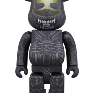 BE@RBRICK 400% ALIEN + BE@RBRICK 400%  Alien Warrior