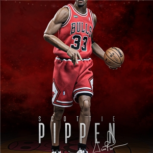(RM-1064) Real Masterpiece: NBA Collection – NBA Scottie Pippen 1/6 scale collectible