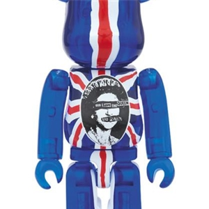 Be@rbrick x Sex Pistols - God Save the Queen 400% + 100%  Set