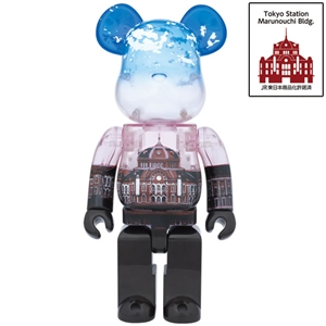 Be@rbrick 2014 Japan Tokyo Station 100th Anniversary 400%