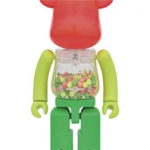 Be@rbrick My First Baby  Chogokin Neon Color 200%