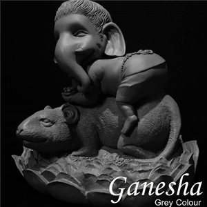 GANESHA LORD OF SUCCESS WITH RAT