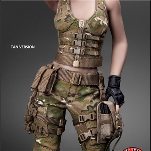 CAT TOYS CT014A Tan Military Female Character set