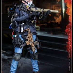 VTS Toys Female VM-019R The Darkzone Agent Tracy R