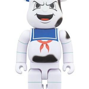 BE@RBRICK STAY PUFT MARSHMALLOW MAN ANGER FACE 400%