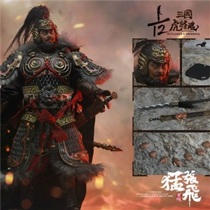 "IN FLAMES X NEWSOUL IFT-033 —The 1/12th scale ""Sets Of Soul Of Tiger Generals -Zhang Yide """