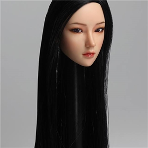 SUPER DUCK SDDX02A 1/6 Movable Female Headsculpt  Black