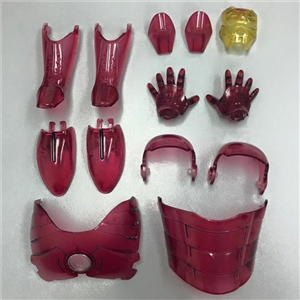 Custom 1/6 Clear Armor Up Grade Kit For Hot Toys Diecast Iron Man MK III