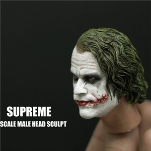 Suprnme SU002 /SU003 1/6 Joker Headsculpt/ Tony Headsculpt