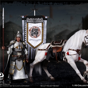 303TOYS NO.317 + NO.117 Three Kingdoms Series - Zhao Yun A.K.A Zilong 2.0 + Jade Lion the Steed