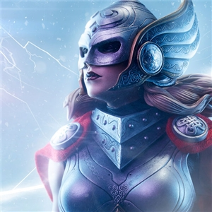 Sideshow Collectibles : Thor - Jane Foster Premium Format™ Figure