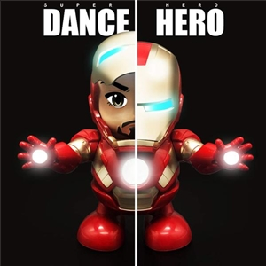 Dancing Hero with Music Fingers Toys