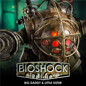 BIOSHOCK – 1/6 Big Daddy and Little Sister
