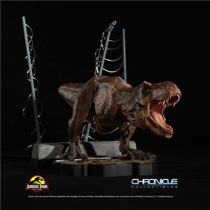 Jurassic Park T-Rex Breakout Diorama by Chronicle Collectibles