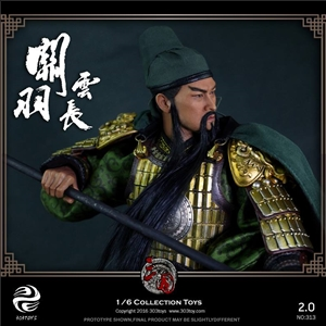 303TOYS 1/6 NO.312 Three Kingdoms Series - Guan Yu A.K.A Yunchang 2.0