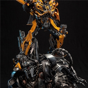 DAMTOYS CLASSIC SERIES: 23 inch TRANSFORMERS  THE LAST KNIGHT  BUMBLEBEE LIGHT-UP STATUE