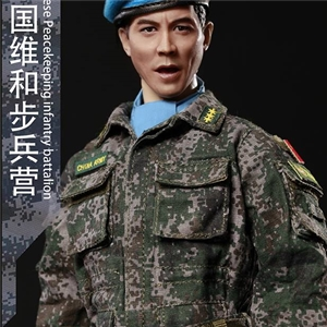 FLAGSET FS-73016 1/6 Blue helmet Warrior Chinese peacekeeping Infantry Battalion