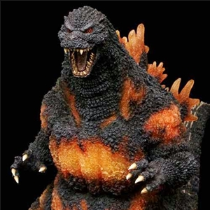 Official X-Plus Gigantic Burning Godzilla
