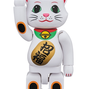 Nyabrick White Lucky Cat 400%