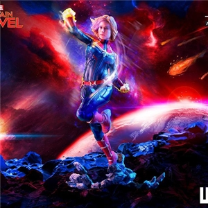 Iron Studios Captain Marvel BDS 1/10 Scale Statue