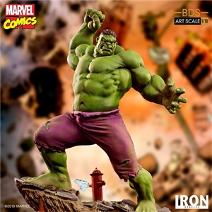 Iron Studios Hulk: Marvel Comics BDS 1/10Scale