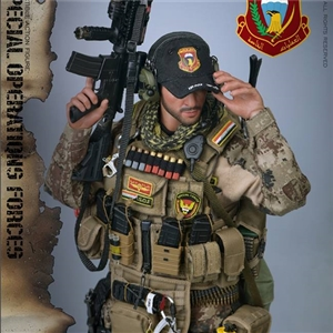"SoldierStory  SS107 1/6 Iraq Special Operations Forces ""ISOF"" - SAW GUNNER"