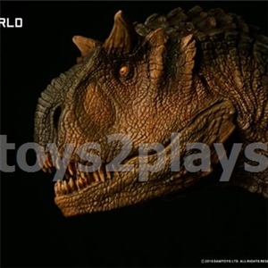 DAMTOYS MUSEUM SERIES  MUS006B : CARNOTAURUS(female)BUST COLLECTIBLE STATUE