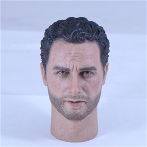 1/6 scale Ric Grim custom head