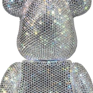BE@RBRICK CRYSTAL DECORATE  400%