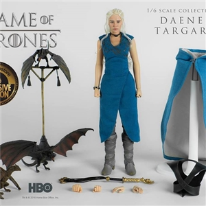 ThreeZero x Game of thrones: Daenerys targaryen Exclusive version