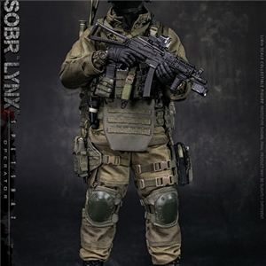 DAMTOYS 8th Anniversary Edition: 1/6 RUSSIAN SPETSNAZ MVD SOBR LYNX 78059