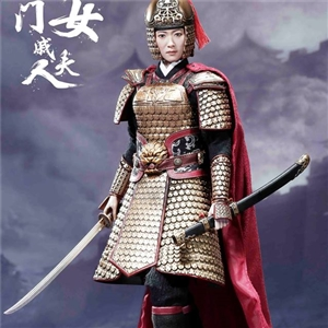 POPTOYS 1/6 EX020-A Heroine Mrs.Qi collectible figure Standard version