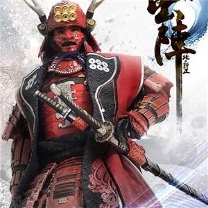 MOTOYS 1/6 Japanese Warring States General Wu Tian Xingcun Empire Sanada Nobushige