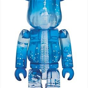 BE@RBRICK Bearbrick Light blue 400% Sky tree