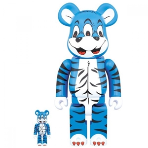 Be@rbrick KIDILL BEAR 100% 400% Blue Figure